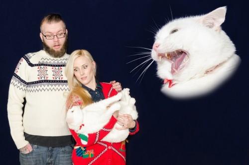 odd Christmas cards