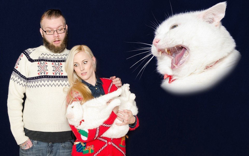 These are possibly the worst family christmas cards ever? - Print ...