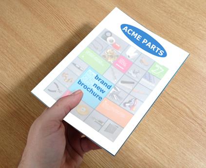 hand delivered brochure