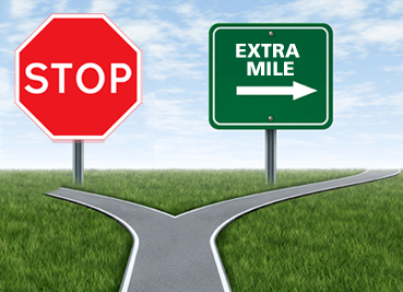 going the extra mile for your customers print marketing blog