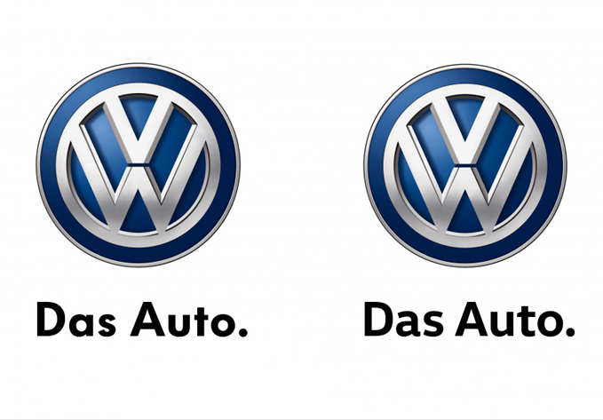 vw minor font alteration
