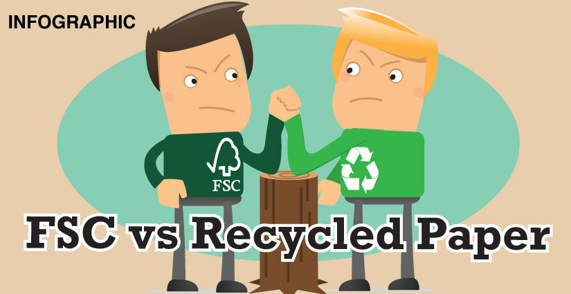 FSC Vs Recycled Infographic