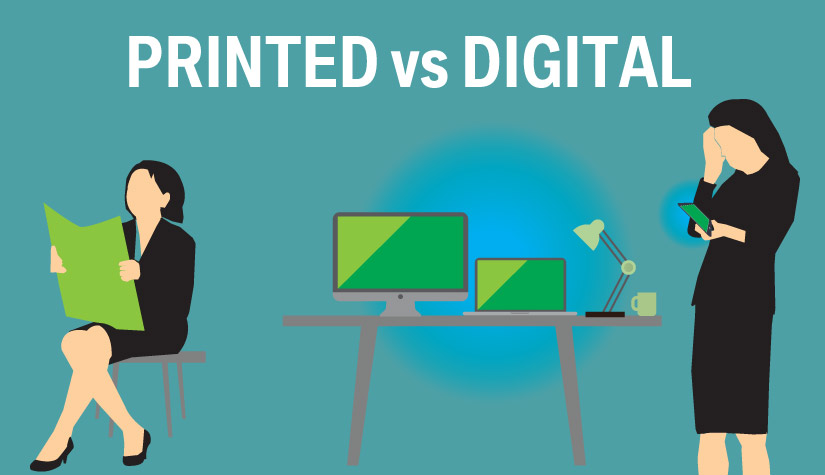 Printed versus Digital