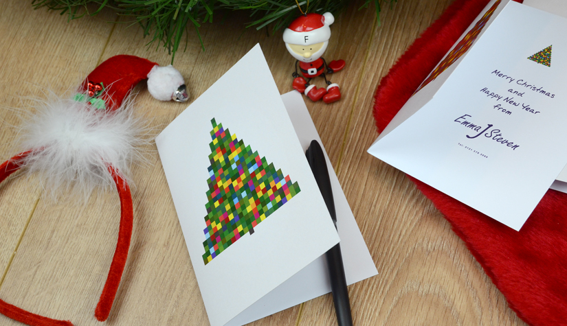 Personalised company christmas cards print marketing blog small christmas cards m4hsunfo