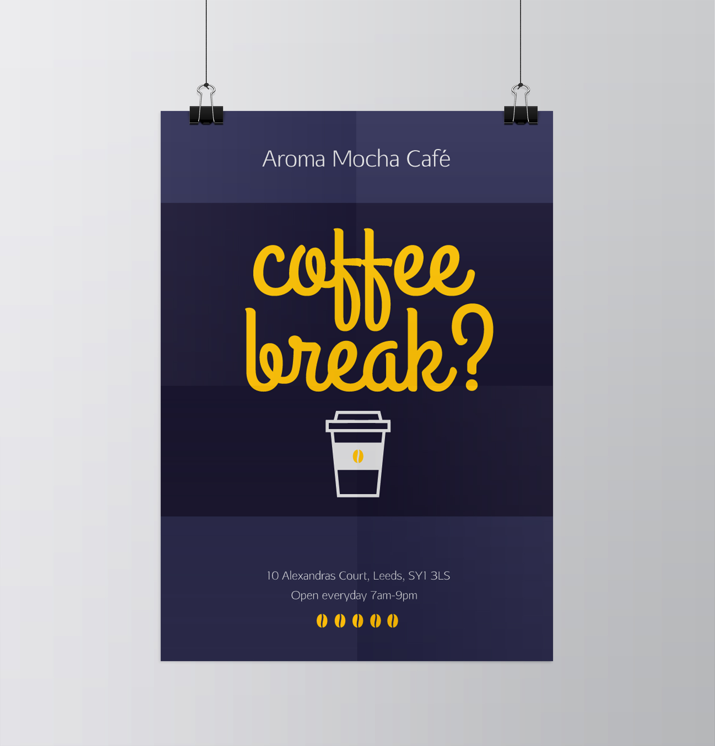 Top 10 New ideas for Coffee Shop promotion - Print