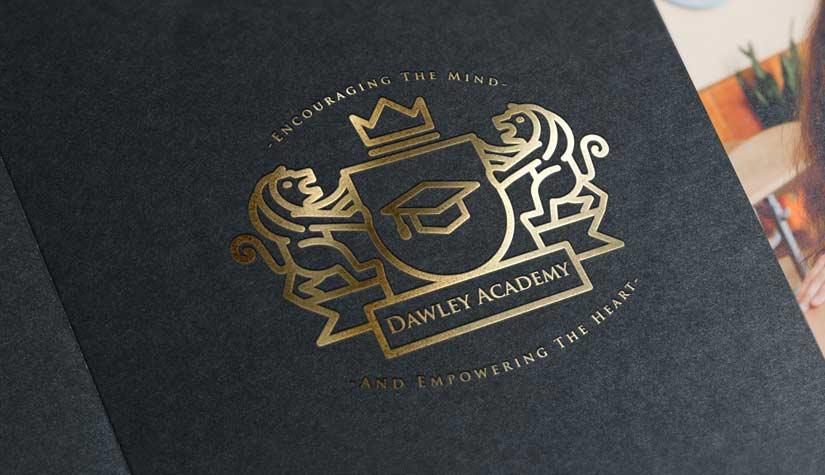Dawley-academy-gold-foil-logo