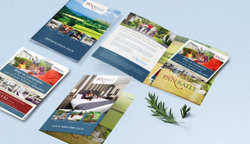 presentation folder for holiday parks