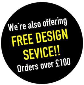 free design on social distancing orders over £ 100